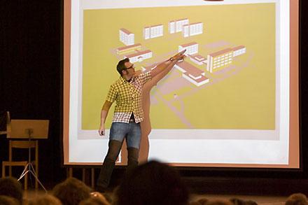 Presentation och föreläsning med bildspel